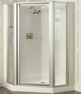Corner Shower Units - Frameless Shower Doors