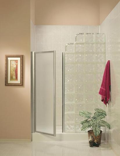 Glass Block Shower Frameless Shower Doors